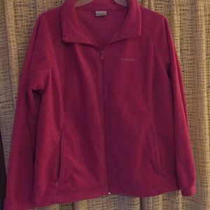 Columbia plus size fleece
